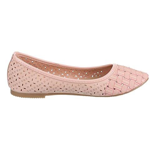 Ital-Design - Bailarinas Mujer Rosa - rosa