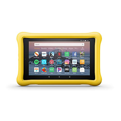 Amazon Kid-Proof Case for Amazon Fire HD 8 Tablet (Compatible with 7th and 8th Generation Tablets, 2017-2018 Releases), Yellow
