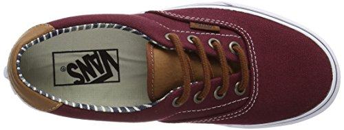 Vans Era 59 - Zapatillas Unisex adulto Rojo (c&l/port Royale/stripe Denim)