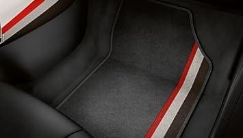 Audi Genuine A1 Competition Legends Front Rear Carpet Floor Mats