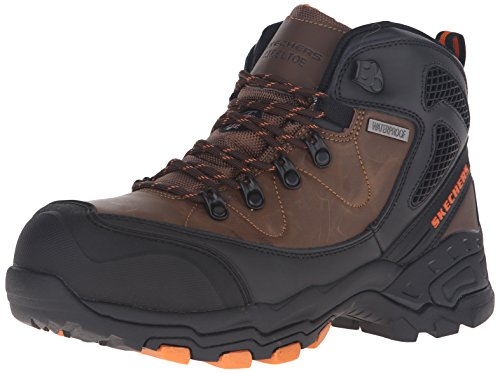 Skechers For Work Men's Surren Work Boot,Brown,11.5 W US by Skechers