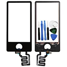 BisLinks® Black LCD Touch Screen Digitizer Assembly Replacement For iPod Nano 7 7th Gen