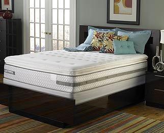 Amazon Com Sealy Posturepedic Deluxe Plush Euro Pillow Top Mattress