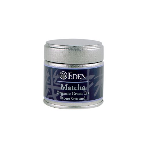 (Eden Organic Matcha Tea, Green Tea Stoned Ground 1 -Ounce)