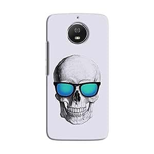 Cover It Up - Cool Skull Moto G5s Hard Case