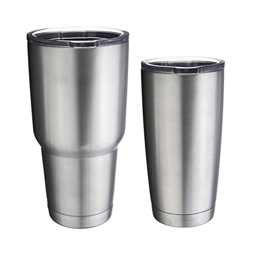 Bilayer Stainless Steel Insulation Cup 20OZ 30OZ Cups Large Capacity Mug