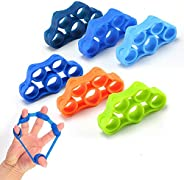 Hand Grip Strengthener, Finger Exerciser Stretcher, Grip Strength Trainer(3 PCS),Forearm Grip Workout Hand Wri