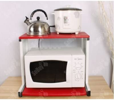 SoBuy Estante para microondas, mesa auxiliar, estante de cocina ...