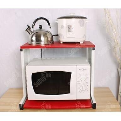 sobuy estante para microondas mesa auxiliar estante de cocina mueble para el televisor