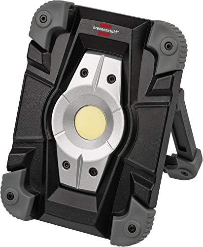 Brennenstuhl foco LED ML CA 110 M de 10 W a batería recargable (1000 lm, luz de trabajo para exteriores, lámpara…