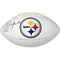 $149 » Juju Smith Schuster Pittsburgh Steelers Signed Autograph Embroidered Logo Football Fanatics Authentic Certified