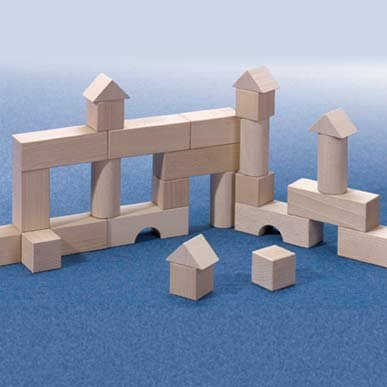 HABA Basic Building Blocks 26 Piece Starter Set (Made in Germany)