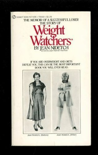 The Story Of Weight Watchers Book By Jean Nidetch