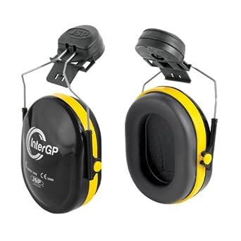 "JSP AEK010-005-300 InterGP - Protectores para oídos, para acoplar al casco"""