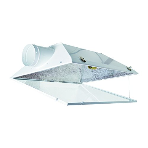 DLS Extra Large 6-Inch Air Cooled Reflector with Glass Panel by DLS