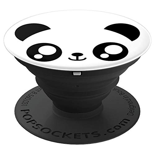 Panda Face Costume Kawaii Japan Inspired Halloween PopSockets Grip and Stand for Phones and Tablets]()