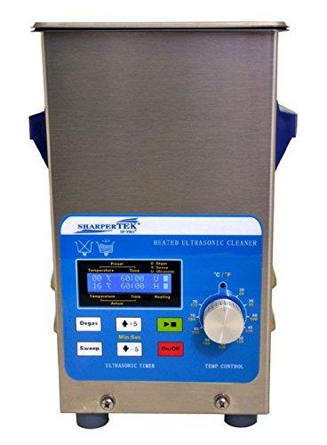 SharperTek XPS120-2_5L Heated Ultrasonic Jewelry Cleaner,...