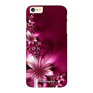 HomeSoGood Beautiful Floral Seeds Pattern Pink 3D Mobile Case For iPhone 6 Plus (Back Cover)