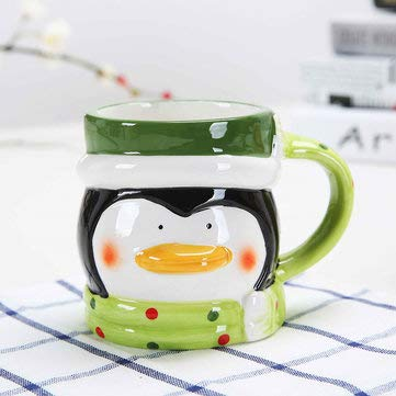 Creative Christmas Gift Ceramic Tea Mugs Water Container Cups And Mugs Top Grade Porcelain Coffee Cup Drinkware - Drinkware & Tea Sets Mug & Electric Blenders - (3) - 1 x china mug -