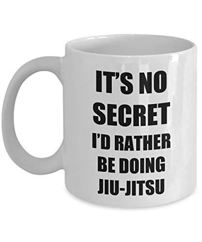 Jiu-jitsu Mug Brazilian BJJ Sport MMA Fan Lover Funny Gift Idea for Fighter Novelty Gag Coffee Tea Cup