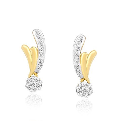 0.167 Ct Diamond Earrings - 7