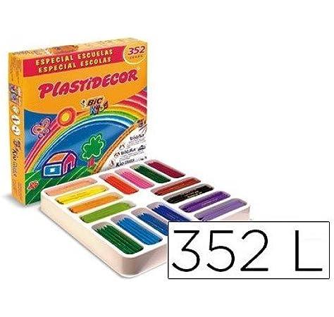 Bic 841719 - Caja de 352 ceras: Amazon.es: Oficina y papelería