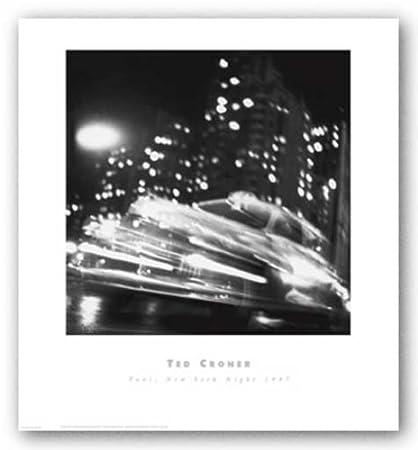 Amazon.com: Taxi, Nueva York Noche 1947 por Ted croner ...