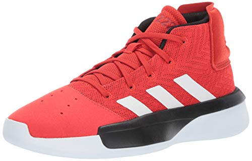 adidas Unisex Pro Adversary 2019, Active red/White/Black, 4 M US Big -