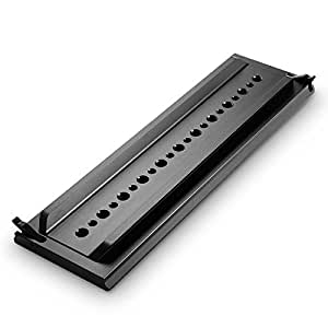 SmallRig ARRI Standard Dovetail 12 Inches Long with Safety Catch for O'Connor 2060,O'Connor 2575, O'Connor 120 EX, Sachtler Cine 30 - 1463