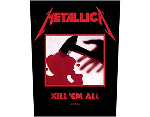 How to find the best metallica kill em all back patch for 2020?
