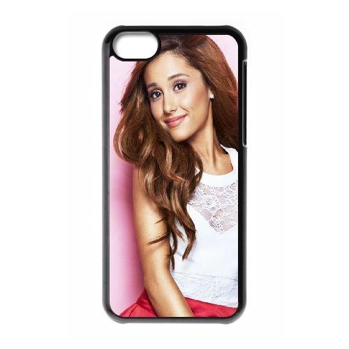 Célébrités Ariana Grande QR98YK0 coque iPhone Téléphone cellulaire 5c cas coque D3AO1X8UQ