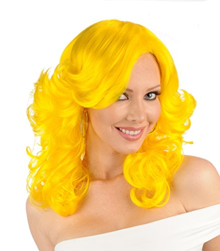 Premium Quality Smurfette Character Halloween/Anime/Cosplay Wig - (Smurfette Wig)