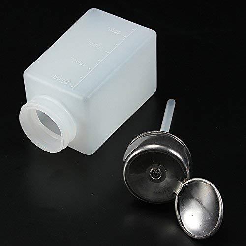 6b7993b6d227 Che-good Nail Tools - 200ml Empty Nail Polish Remover Liquid Press Pump  Dispenser Bottle - 1PCs