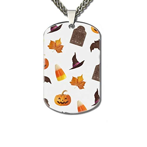Happy Halloween Personalized Pet Tag - Dog Cat ID – New Puppy Kitten Identification Lost -