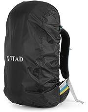 OUTAD Qualitäts Camping Wandern Rucksack Wasserdichte Regenschutz (Grau, S)