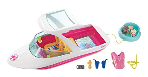 - Barbie Dolphin Magic Ocean View Boat Playset