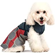 Marvel Comics Captain America Costume for Dogs,   Halloween Costume for All Large Dogs