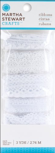 Martha Stewart Doily Lace - Martha Stewart Crafts EK Success Doily Lace Specialty Ribbon