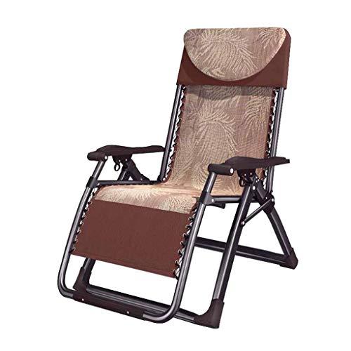 WYJW Ampliación Silla Plegable reclinable Sillas de jardín ...