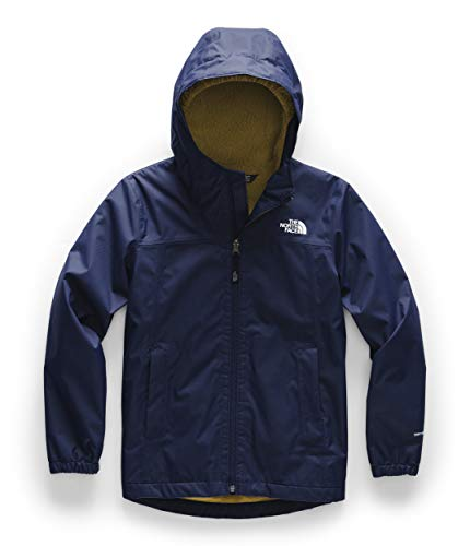 The North Face Boys' Warm Storm Jacket, Montague Blue, S (Jacket Boys North Face)