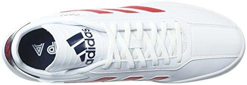 adidas Männer Copa Super Weiß / Scharlachrot / Collegiate Navy