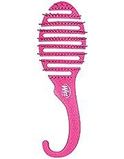 فرشاة شعر لفك تشابك الشعر المبلل - بينك جليتر، قطعة واحدة