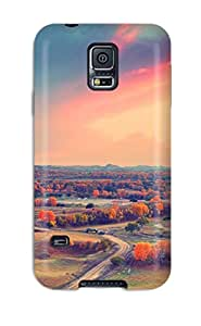 MarvinDGarcia Galaxy S5 Hybrid Tpu Case Cover Silicon Bumper Landscape