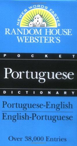 Random House Webster's Pocket Portuguese Dictionary (Best-Selling Random House Webster's Pocket Reference)