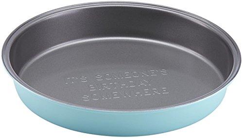 KSNY All in Good Taste Metal Bakeware Round Pan, Aluminum