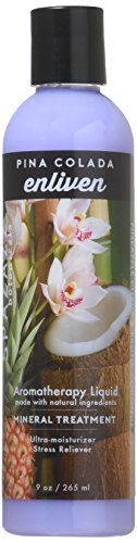 Spazazz SPZ-122 Original Elixir Bottle Spa and Bath Aromatherapy, 9-Ounce, Pina Colada Enliven