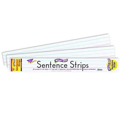 TEPT4001 - Trend Wipe-Off Sentence Strips (Trend Strips)