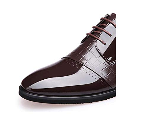Tela da Inverno Brown Scarpe Soft Autunno Sport Business Ribbon Casual A Round Punta zmlsc Estate Colore Primavera Uomo RFqwTaRE