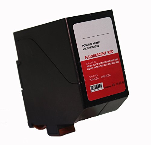 ISINK34, IMINK34, 4135554X Compatible Replacement Cartridge - 90 Day Warranty for IS / IN Series Mailing Systems (Neopost Is 300 Ink Cartridge)