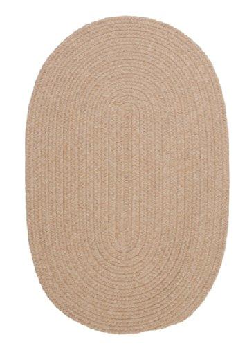 Bristol Polypropylene Braided Round Rug, 4-Feet, Oatmeal
